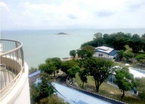 Paradise Hotel sea view