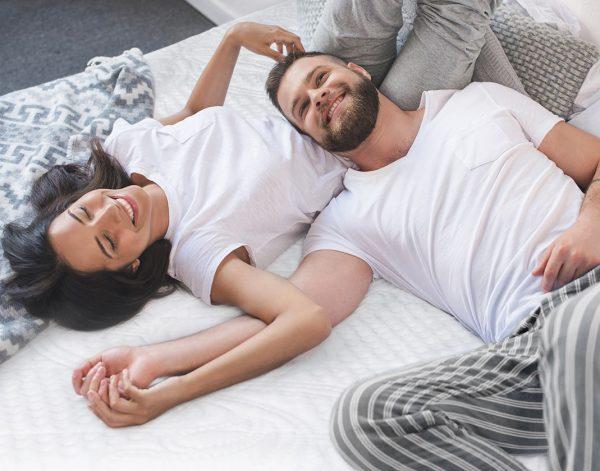sweet Zzz mattress with couple