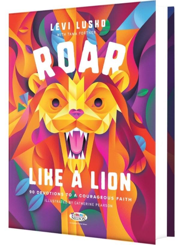 Roar like a Lion Children's 90-Day Devotional Book